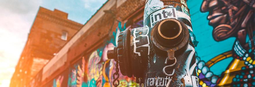 montée du street art