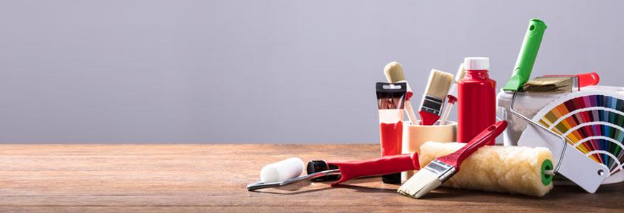 nettoyer et conserver les outils de peinture
